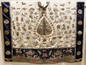 Large Ceremonial Chinese Silk Robe
