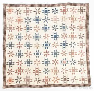 Appliqu whig rose quilt