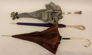 Group of Three UmbrellasParasols