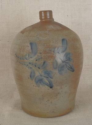 Pennsylvania fourgallon stoneware jug 19th c
