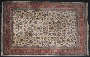 Semi antique Persian carpet