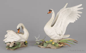 Two Boehm porcelain bird sculptures
