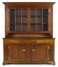 Pennsylvania walnut Dutch cupboard ca 1790