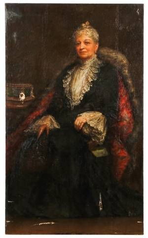 Wallace Bryant Portrait Of Mrs Brown 1903