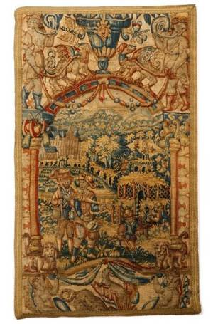 Brussels Figural Tapestry Panel Late 16th Century