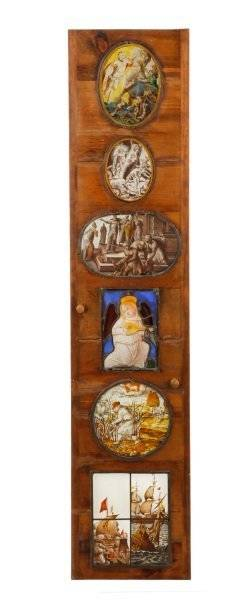 Collection of Six 16th18th C Stained Glass Works