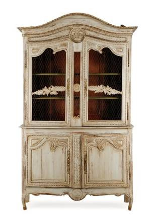 French Louis XV Style Buffet a Deux Corps 18th C
