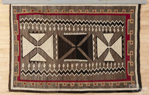 Large Native American Navajo weaving