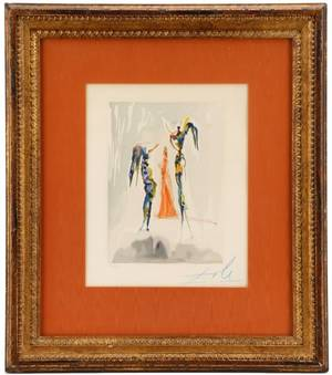 Dali Heaven Canto 31 Signed in Blue 53150