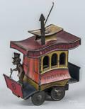 Tin litho windup  Toonerville Trolley