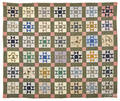 Ohio star patchwork quilt