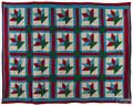 Pennsylvania tulip basket variant quilt
