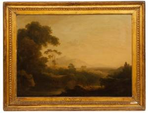 Attributed to John Rathbone English Landscape