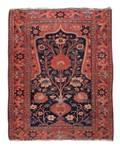 Hand Woven Persian Throw Rug 4 1 x 5 5