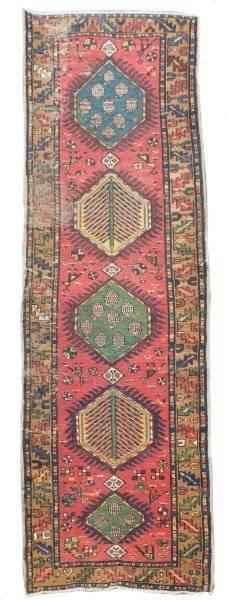 Hand Woven Persian Heriz Runner 2 11 x 10 2
