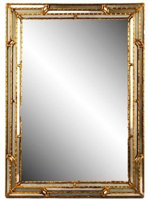 Italian Giltwood Wall Mirror 20th Century