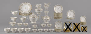 Porcelain tea and luncheon service