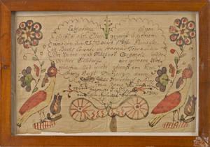 Friedrich Krebs Southeastern Pennsylvania active 17841812