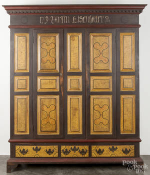 Charles Putt contemporary painted pine schrank