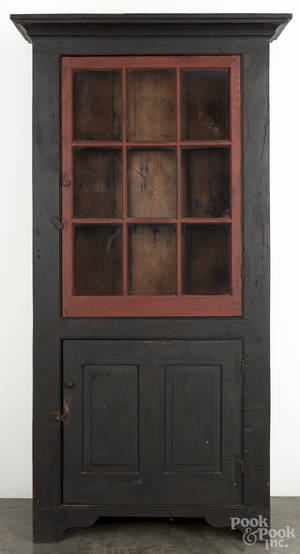 Bryce Ritter contemporary painted pine cupboard