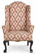 Chippendale mahogany wing chair ca 1770