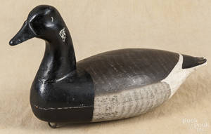 New Jersey carved and painted brant decoy
