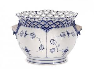 Royal Copenhagen Blue White Porcelain Jardinire