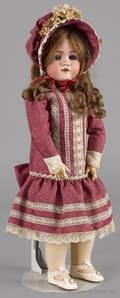 German Walkure bisque doll