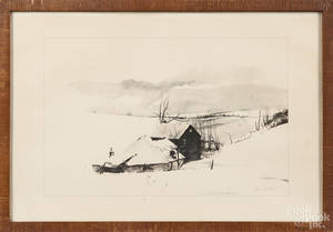 Andrew Wyeth lithograph