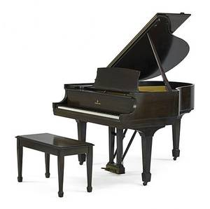Steinway  Sons baby grand piano and bench ca 1936