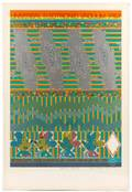 E Paolozzi Signed AP Serigraph UEV 9 Whipped