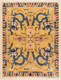 Semiantique Chinese dragon rug
