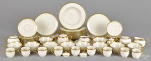 Lenox Tuxedo porcelain tea and luncheon service