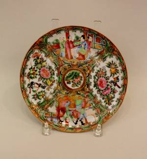 L 19th C Chinese Porcelain Plate