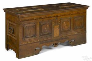 German oak chest 18th c