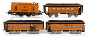 Lionel standard gauge fourpiece train set