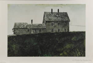 Andrew Wyeth signed lithograph