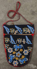 Native American Indian beaded pouch