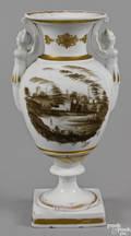 Philadelphia Tucker porcelain vase ca 1825