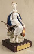 Cybis porcelain figure of Columbia