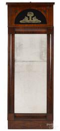 Beidermeier mahogany pier mirror ca 1830