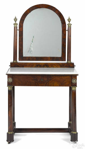 LouisPhilippe mahogany dressing table ca 1840