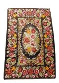 Large Hand Woven Floral Tapestry
