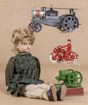 Group of reproduction toys