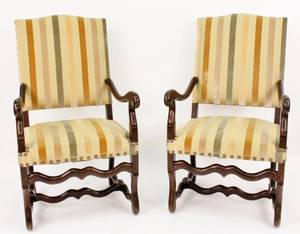 Pair of Louis XIV Style Fauteuils