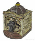 Cast iron  Halls Lilliput  mechanical bank