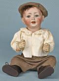 Bisque boy doll