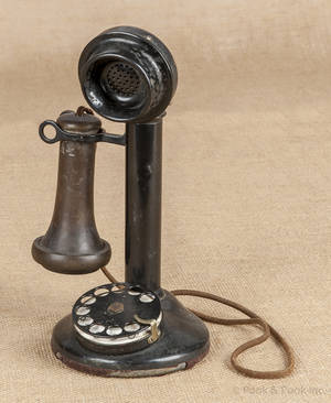 Early rotary telephone
