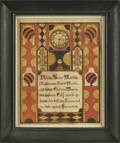 Samuel Bentz Mount Pleasant Artist Pennsylvania active 17921850