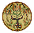 Berks County Pennsylvania redware sgraffito plate ca 1820